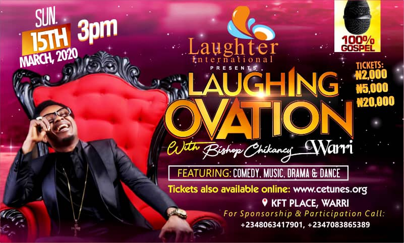 Laughing Ovation With Bishop Chikancy