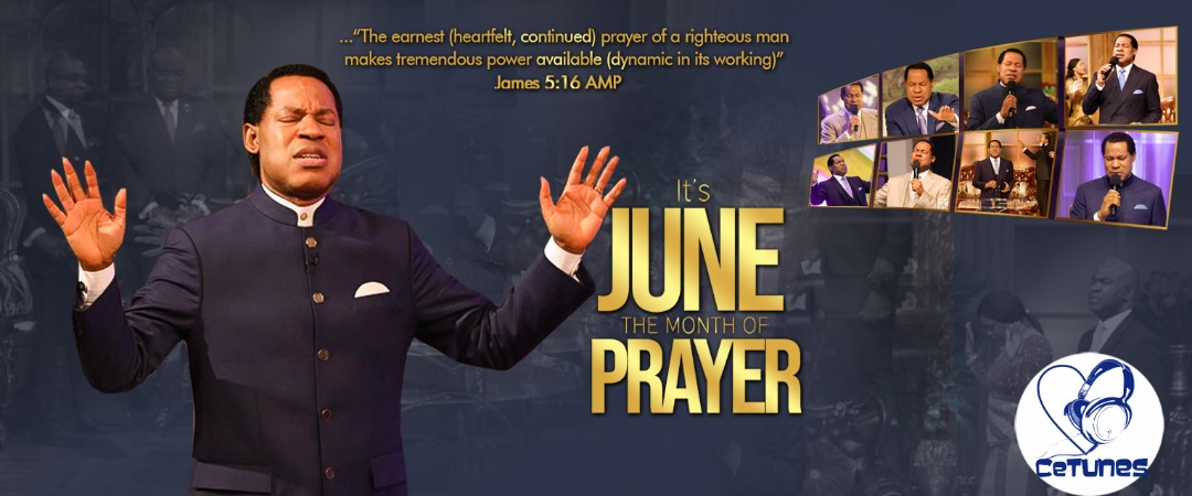 WELCOME TO THE MONTH OF PRAYER