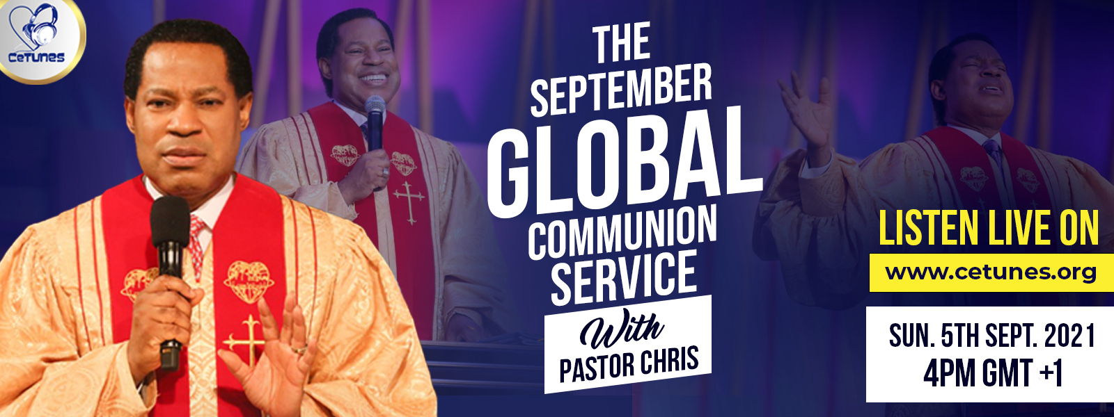 GLOBAL SERVICE WITH PASTOR CHRIS(SEPTEMBER EDITION)