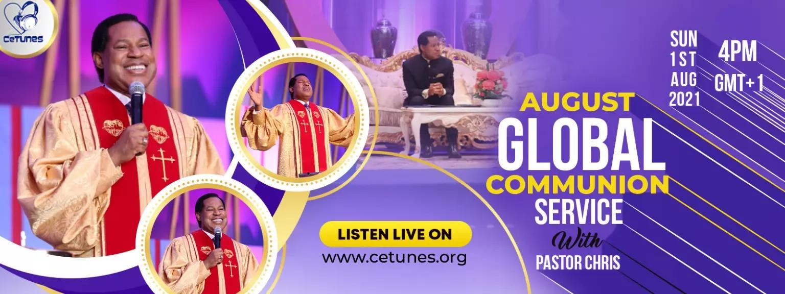 August Global Communion Service